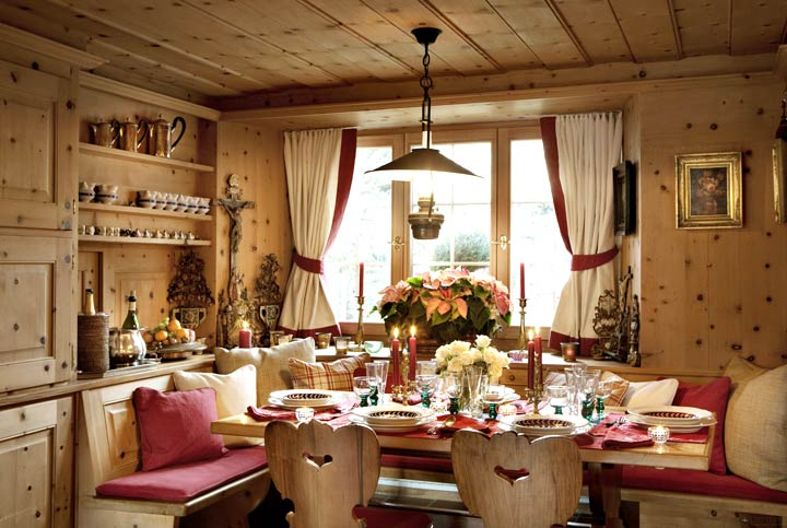 Уютные интерьеры в домах