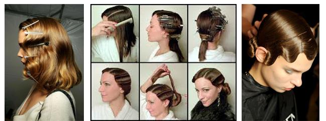 Причёски в стиле 30 х годов сделать самой