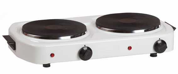 двухкомфорочные электрические плиты