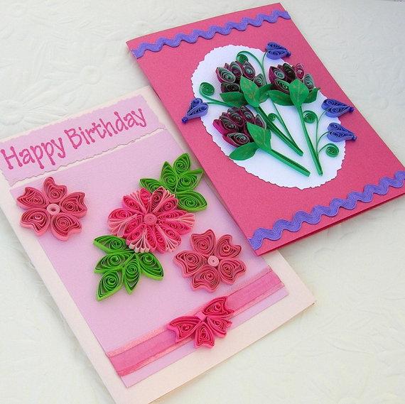 Открытки на день рождения своими руками из бумаги фото