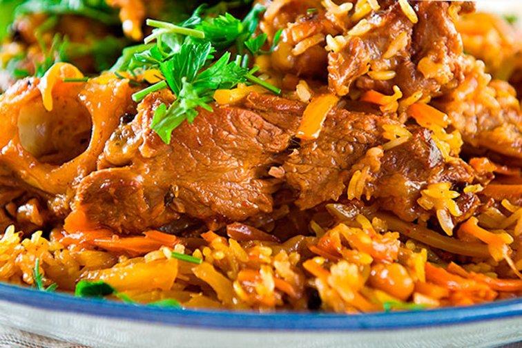 плов из свинины рецепт с фото пошагово в утятнице