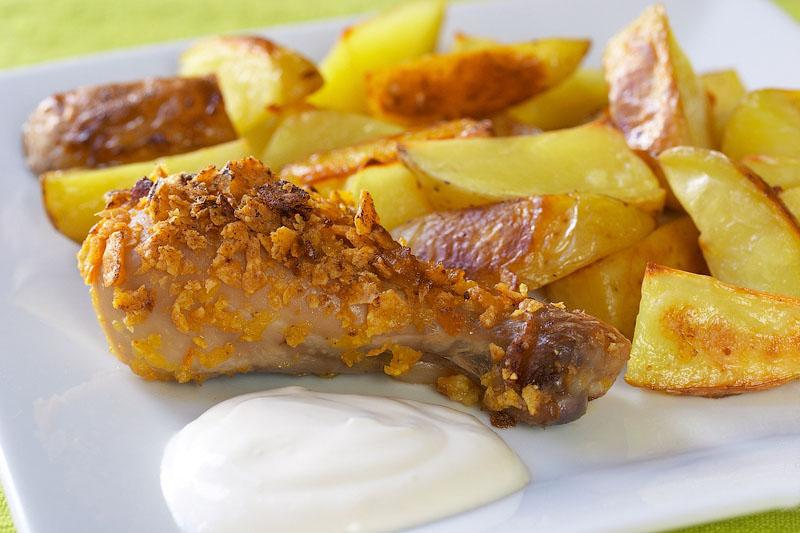 рецепт куриных колбасок в духовке