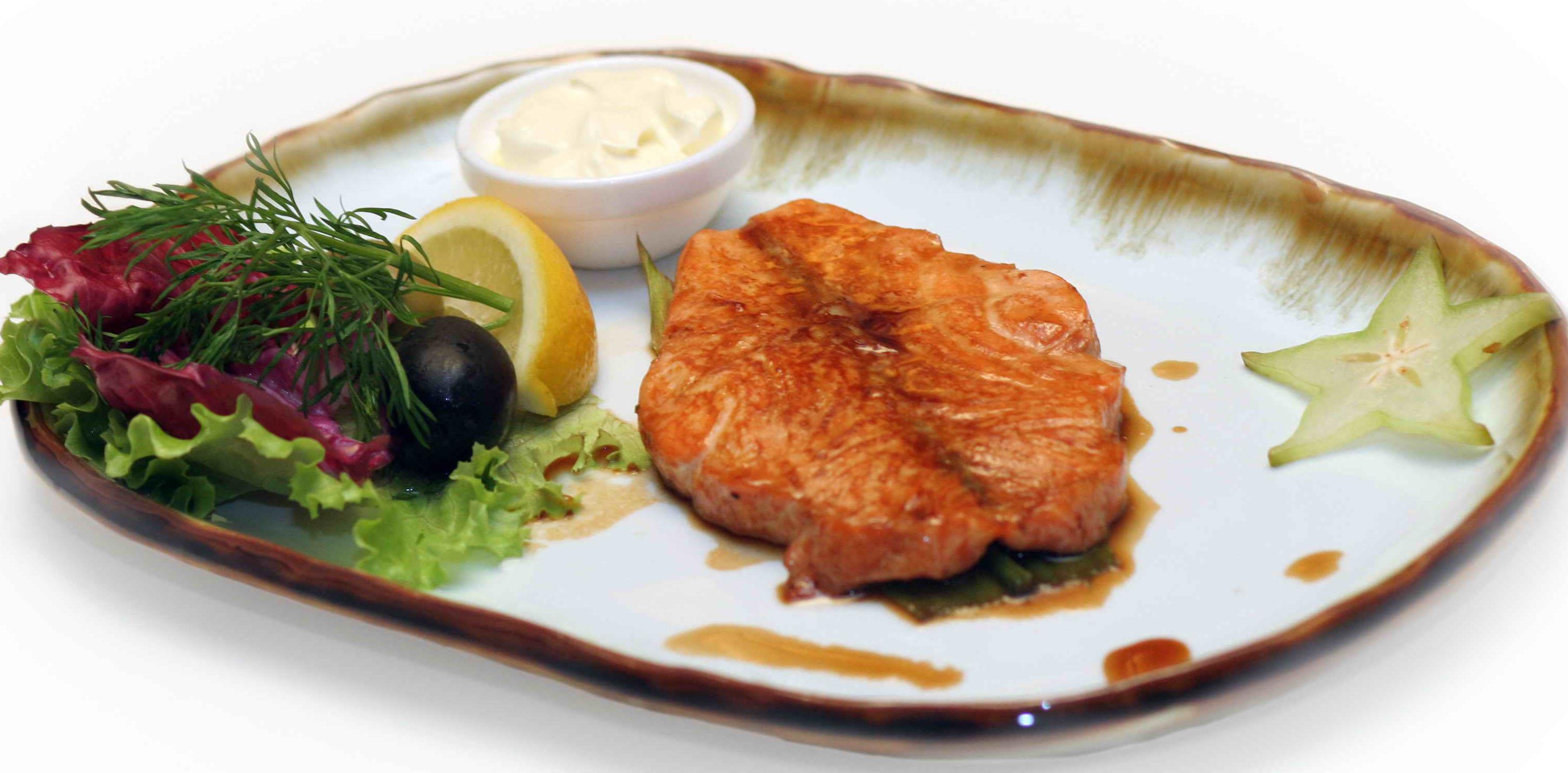 Стейк рыбный в духовке рецепты