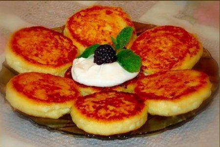 сырники на манке рецепт с фото пошагово