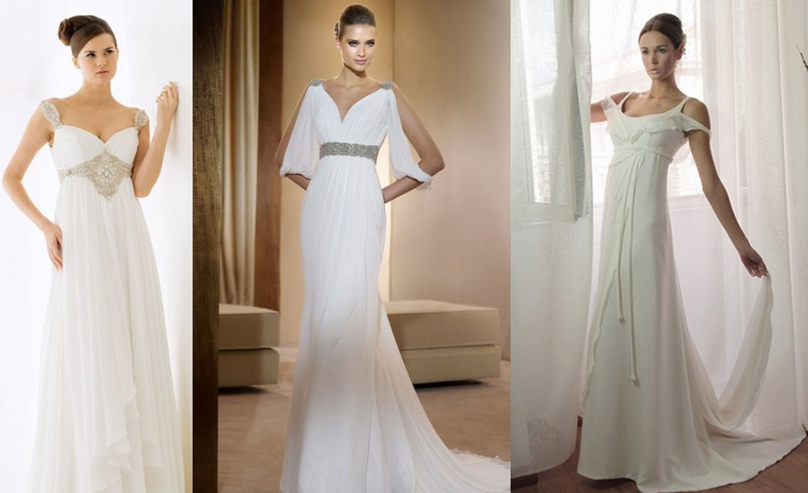 Фото модных греческих платьев