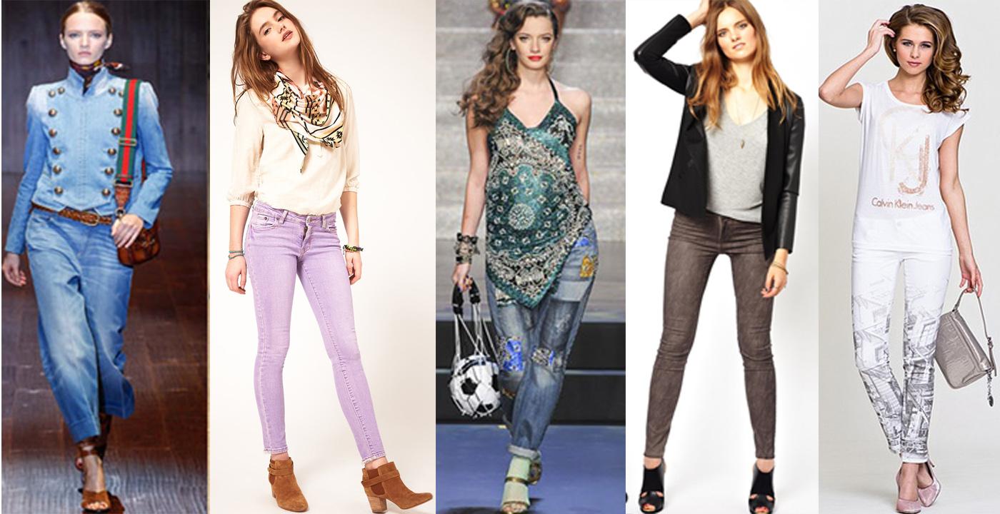 Модные Джинсы 2015