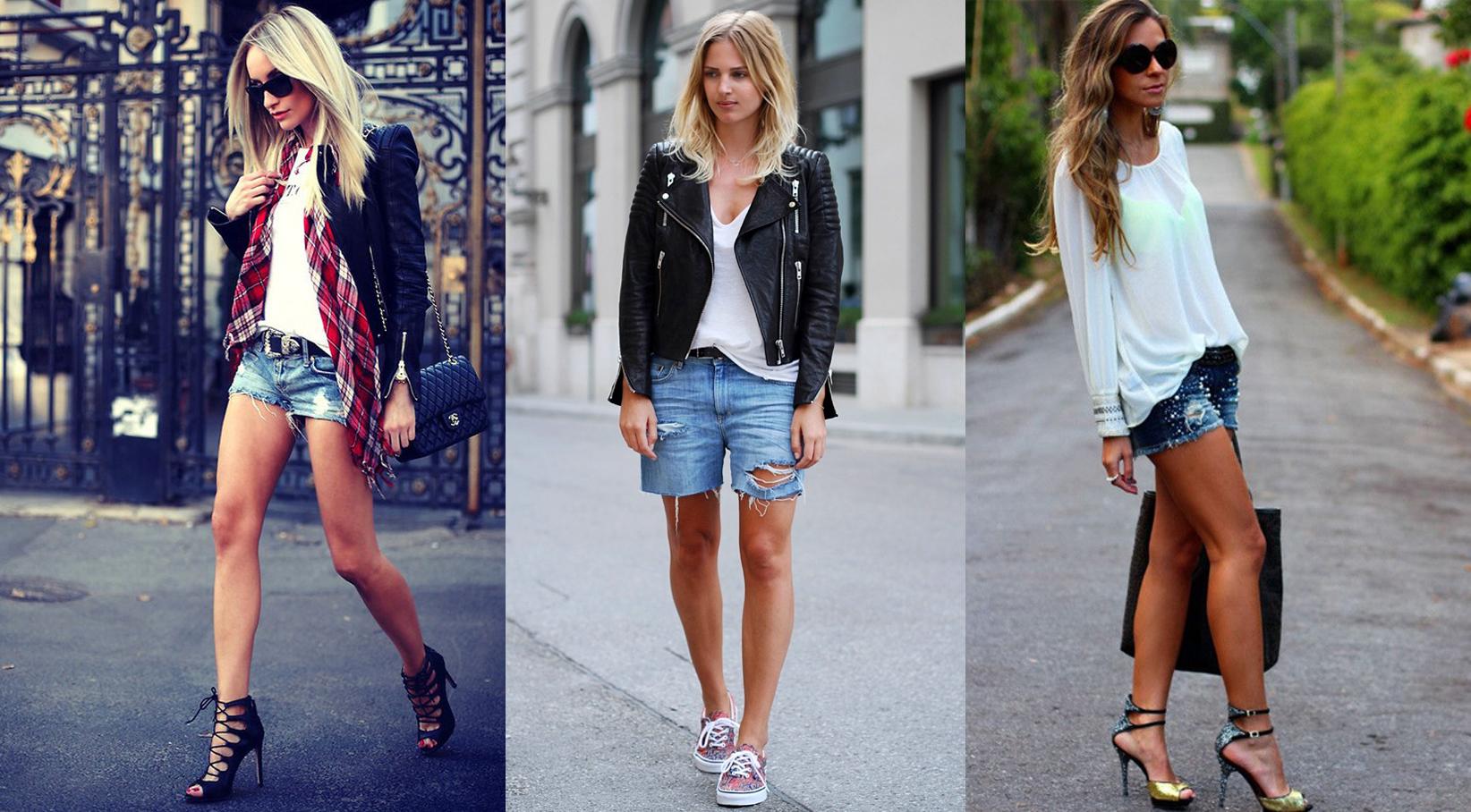Модели джинсового  женского