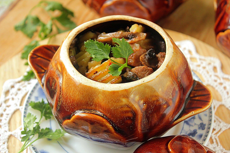 выпечка с мясом и картошкой в духовке рецепт с фото