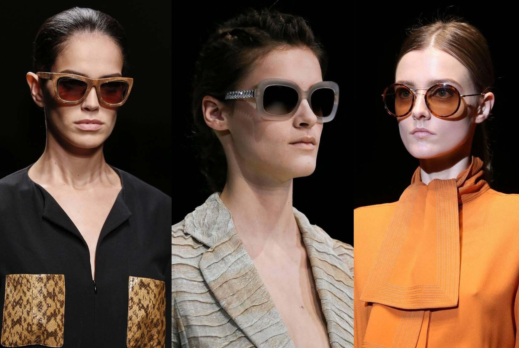 Какие очки сейчас в моде 2018 фото